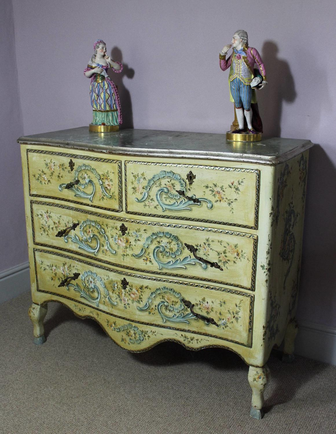 Venetian Painted Chest of Drawers