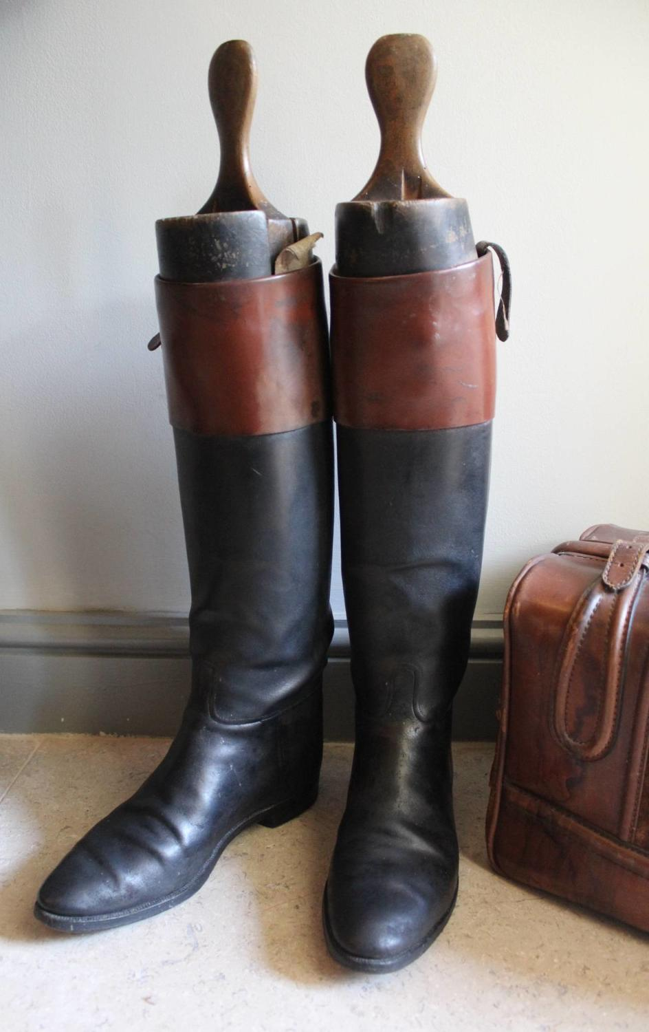 Leather Hunting / Riding Boots