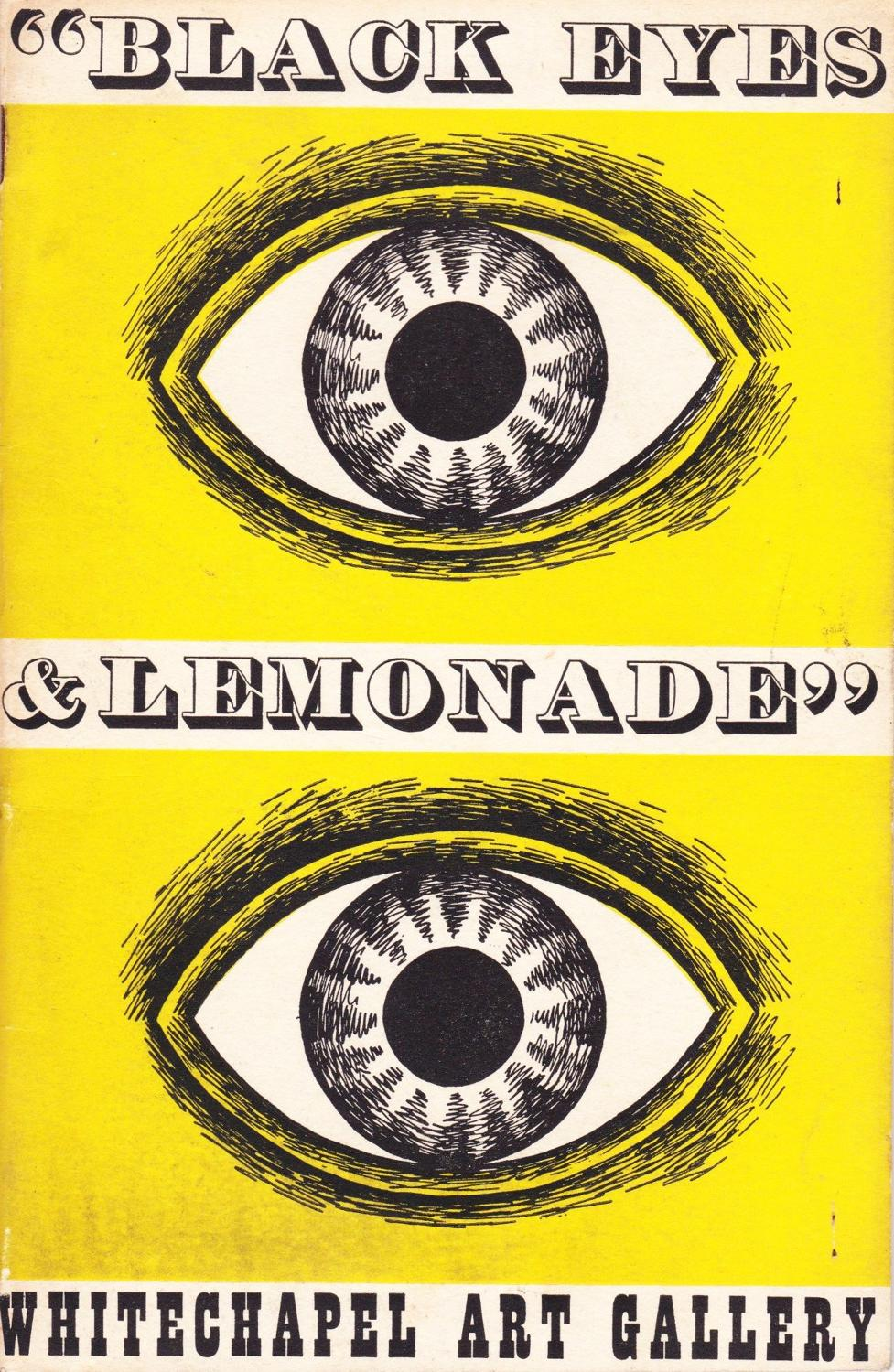 Black Eyes & Lemonade - Original 1951 Festival of Britain Guide