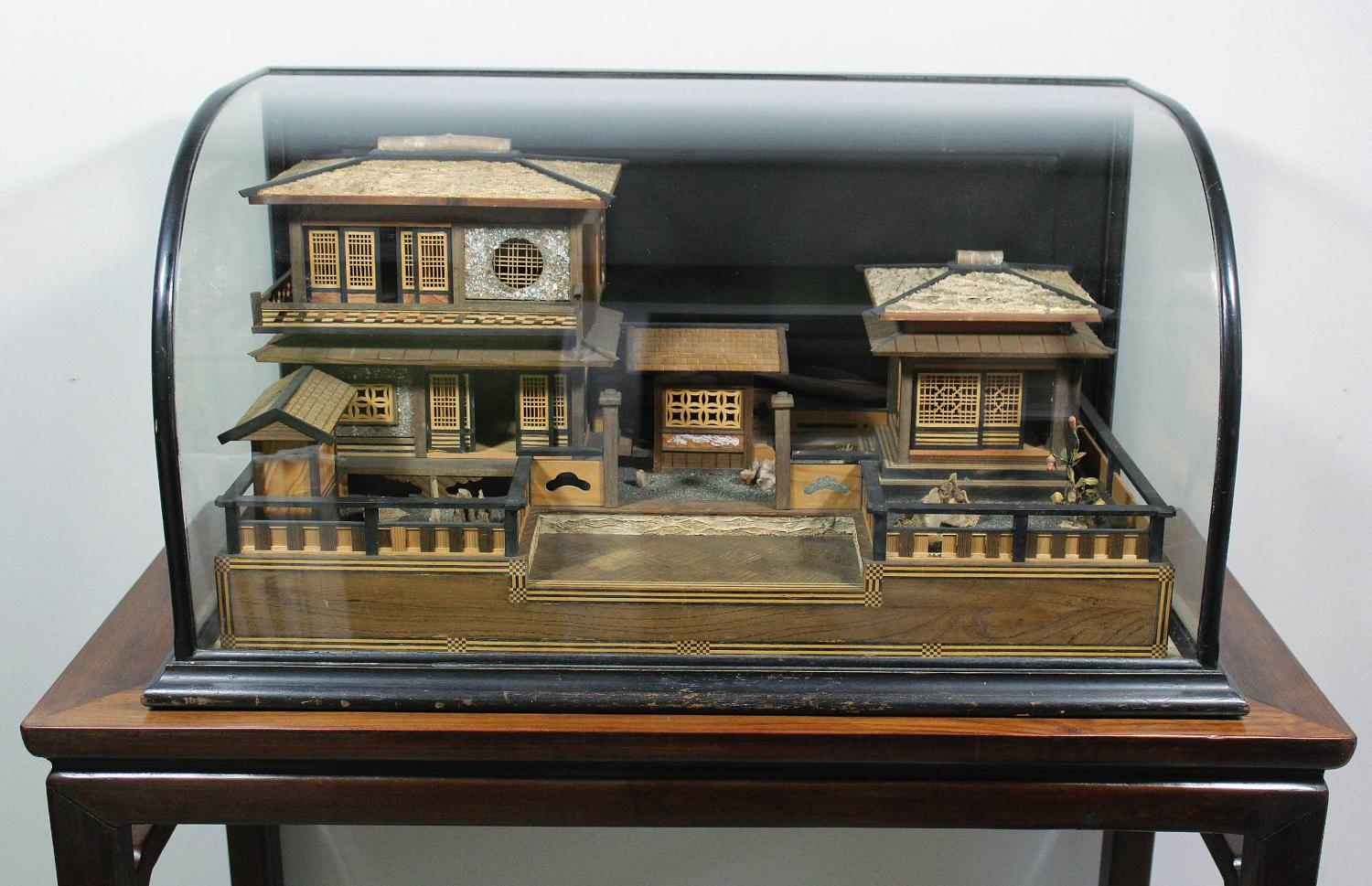 Antique Japanese Model of a Traditional House
