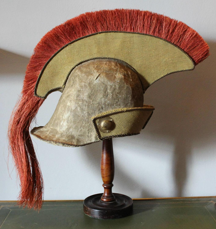 Vintage Theatrical Roman Helmet