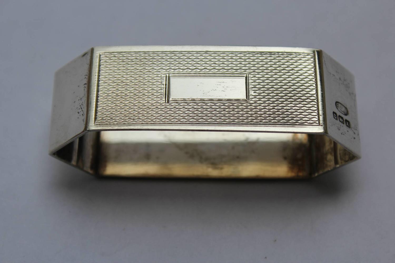Art Deco Silver Napkin Ring