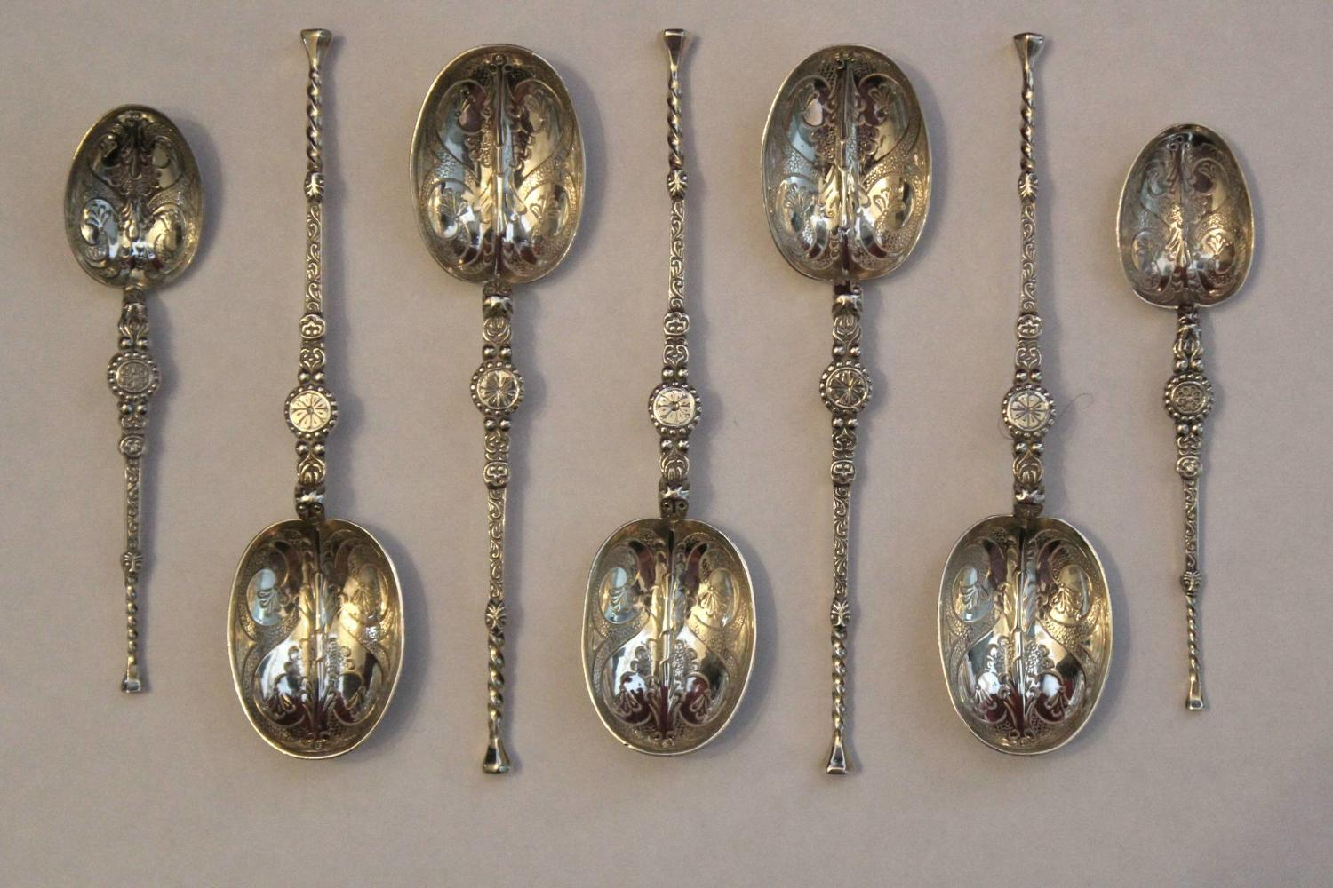 Silver Seal Top Tea & Coffee Spoons