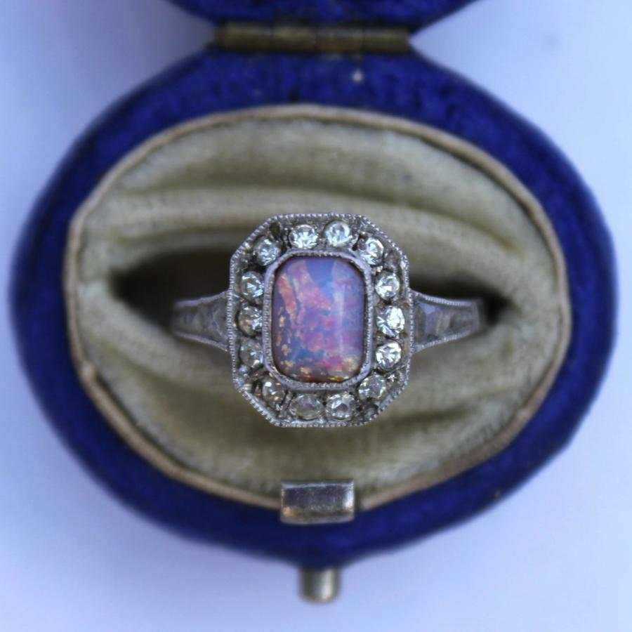Opal & Diamond Ring circa 1930