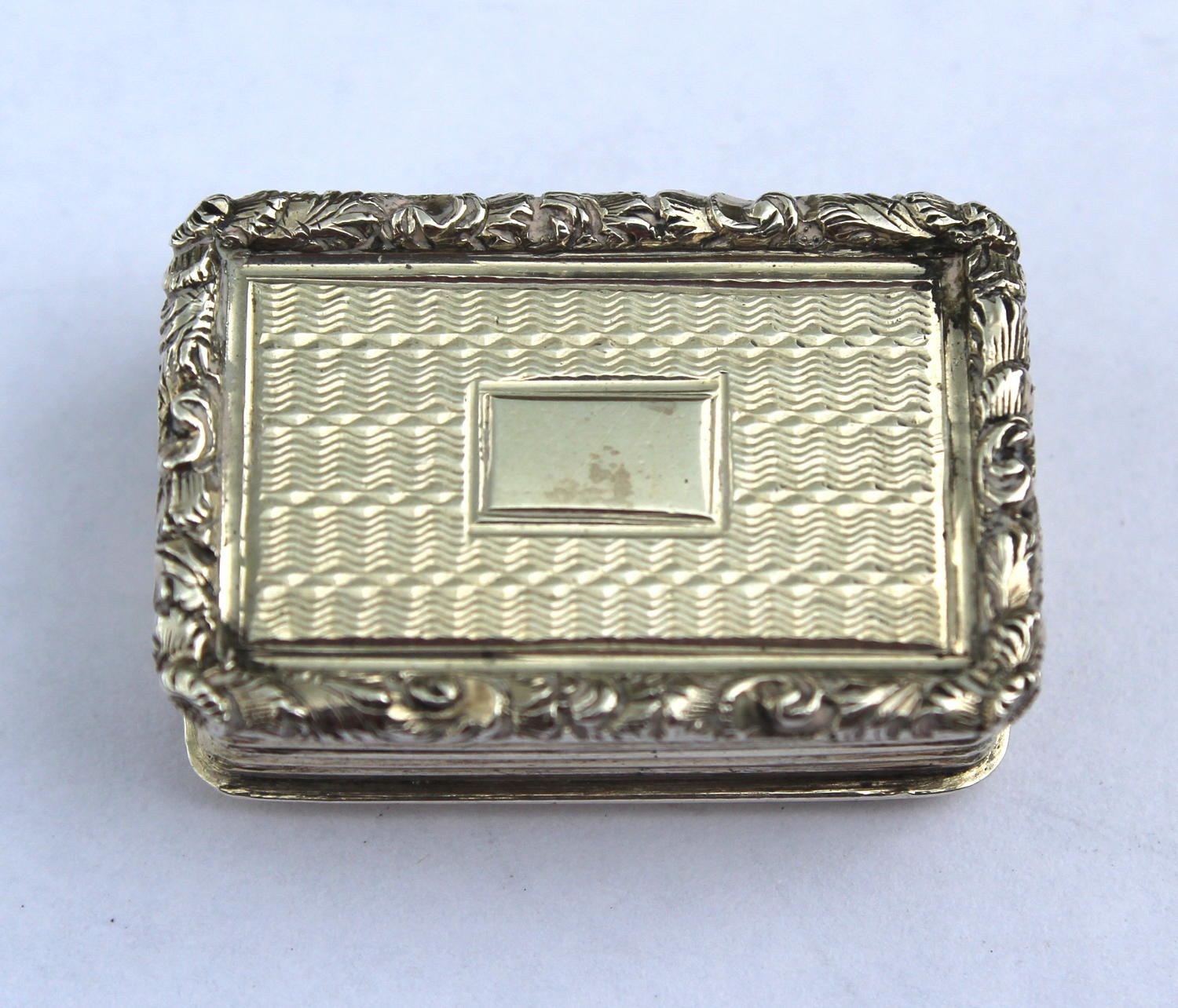 William IV Miniature Silver Vinaigrette