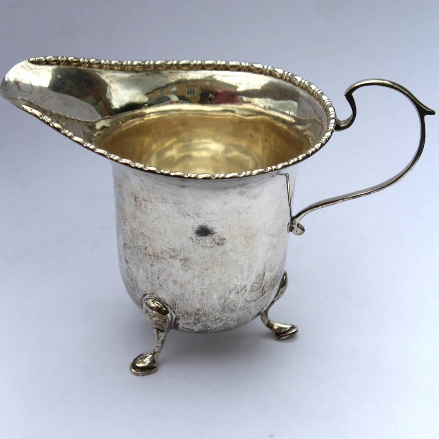 Sterling Silver Cream Jug, Sheffield 1934
