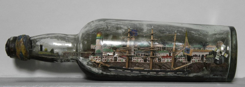 19th Century Ship in a Bottle