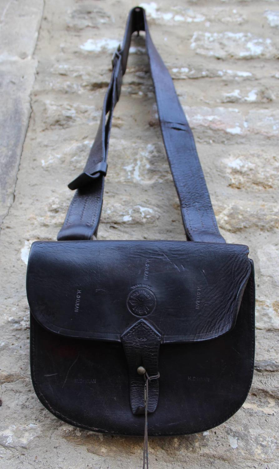WWI Military Leather Satchel