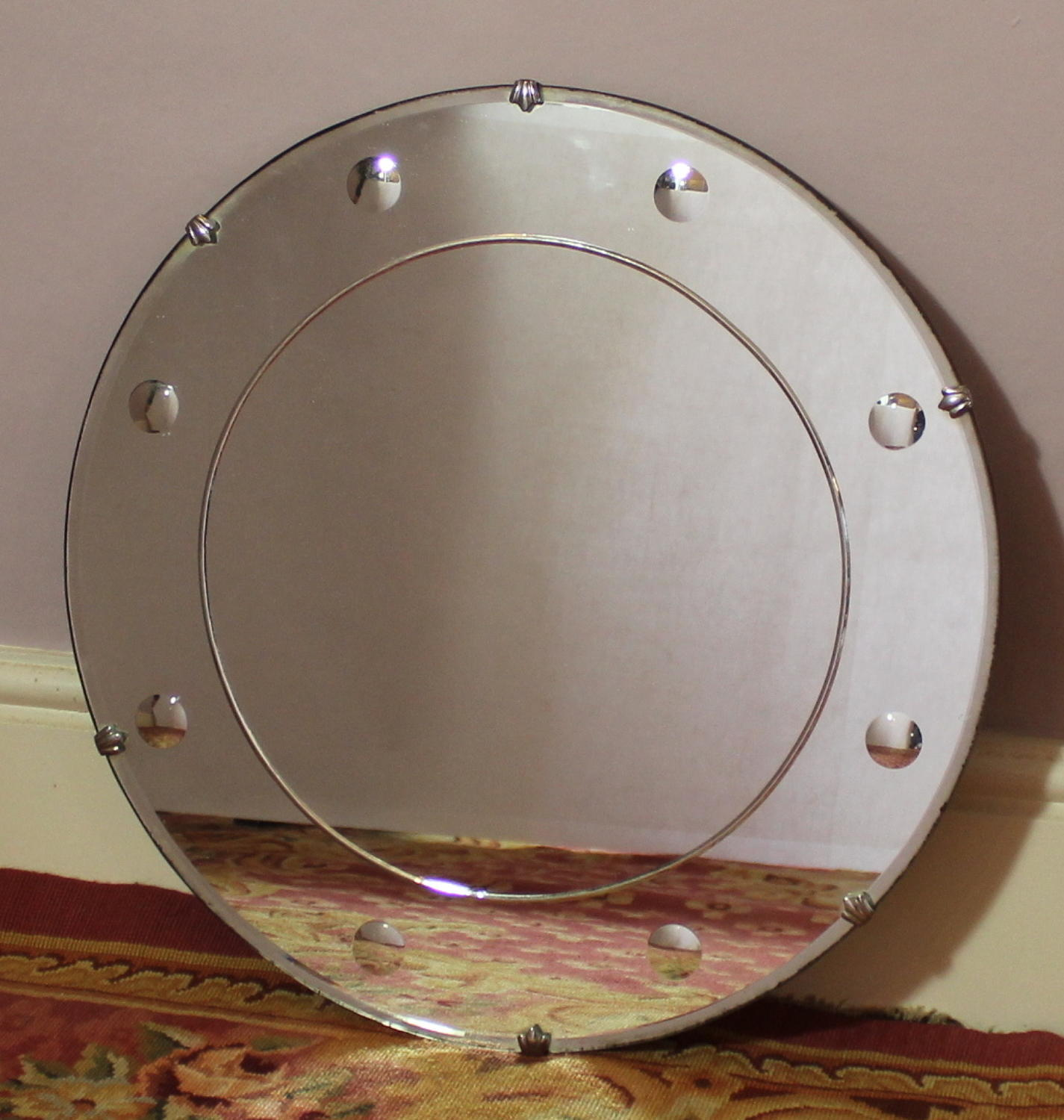 Circular Witches Mirror