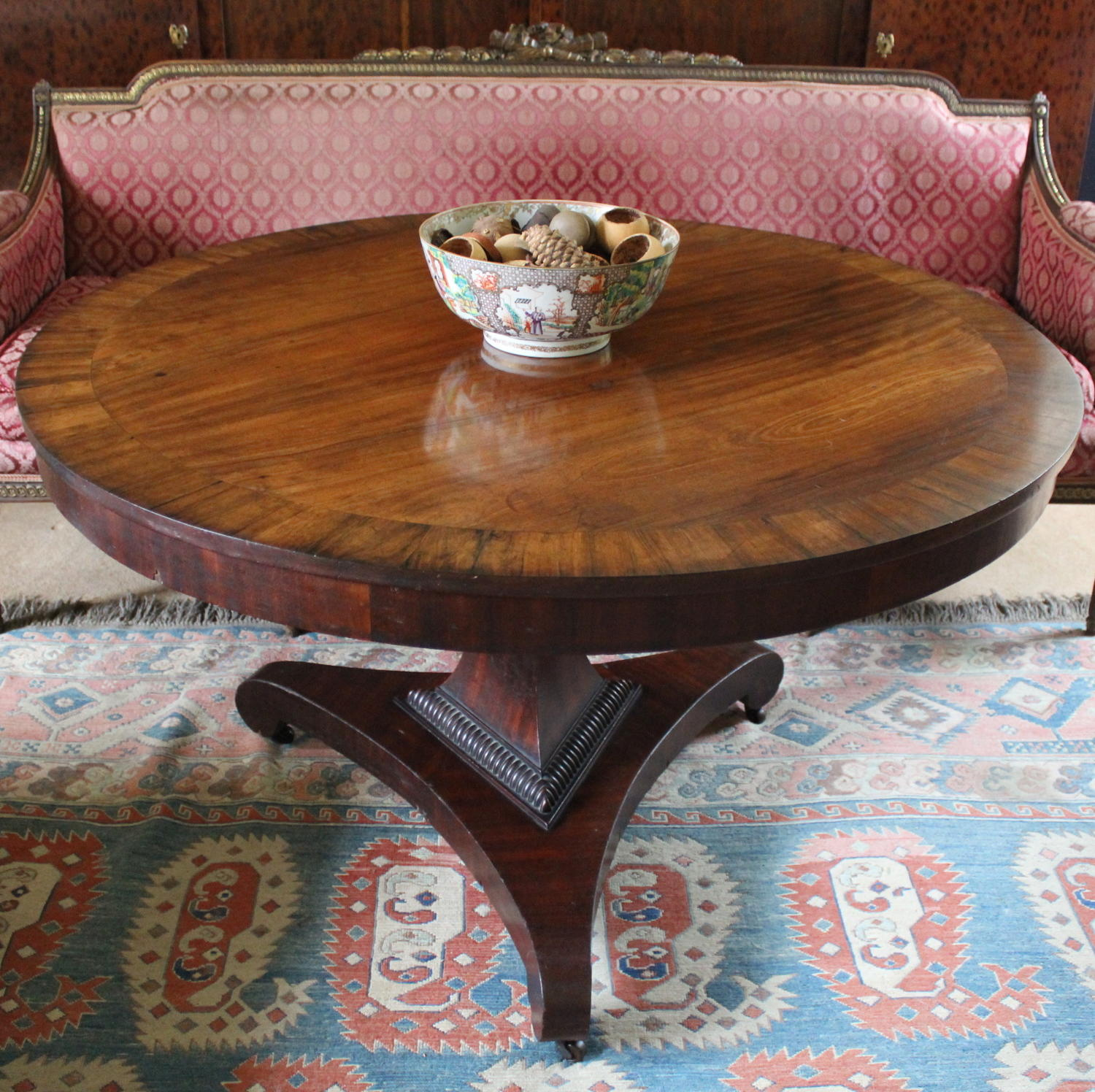 William IV Mahogany Centre Table