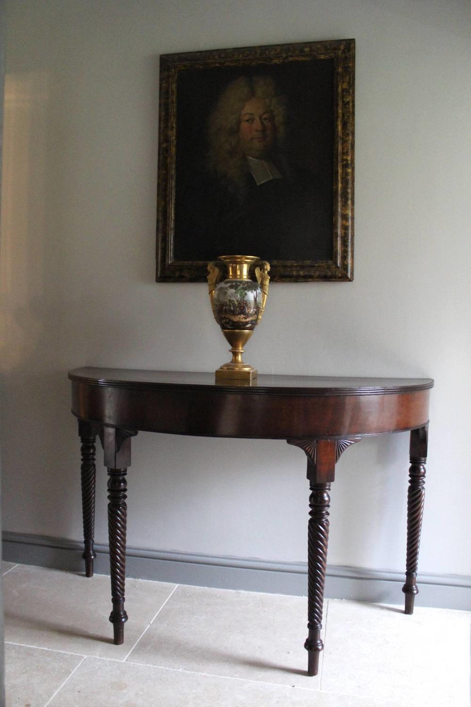 A Regency Mahogany Country House Console Table