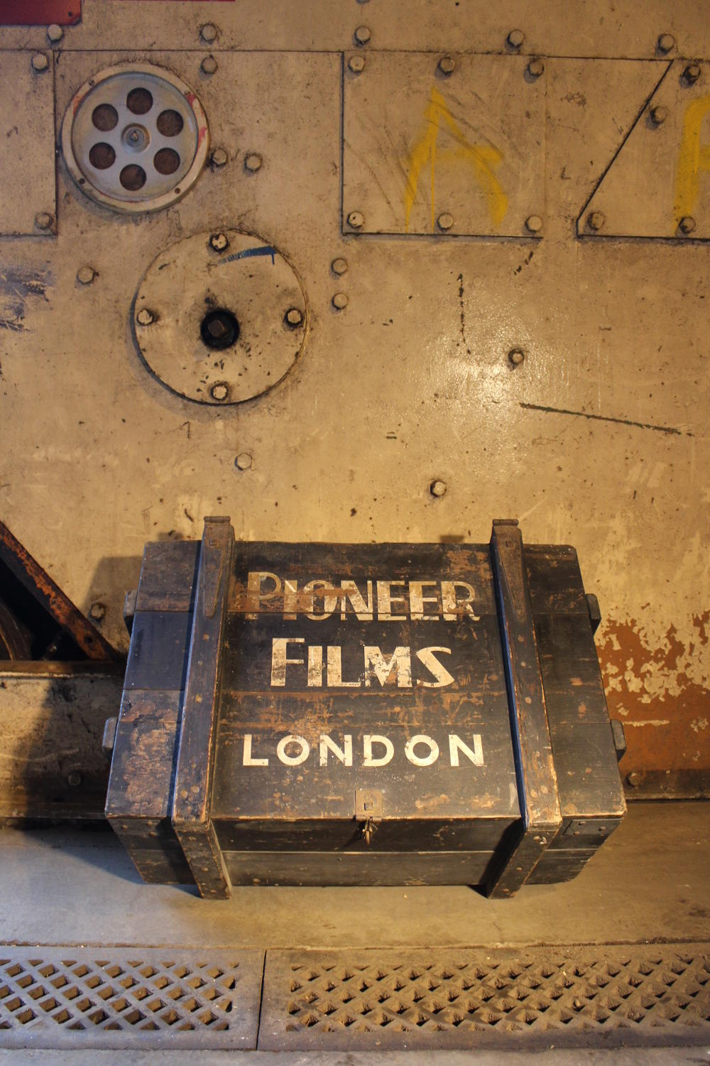 A Pine Transit Trunk for Pioneer Films London