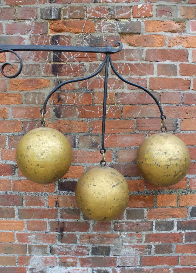 A Superb Victorian Pawnbrokers Sign