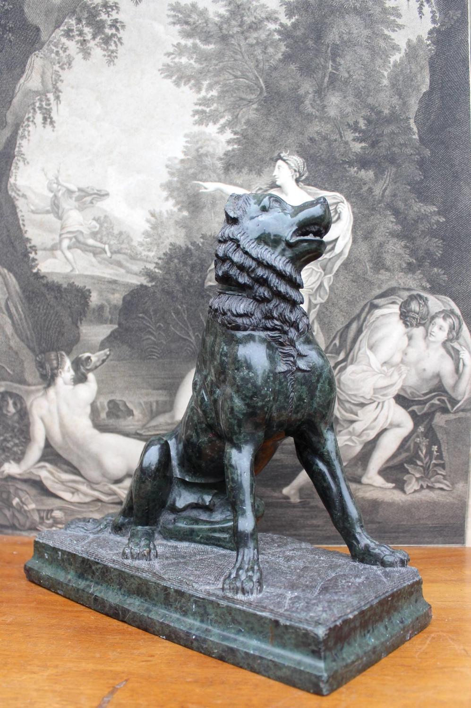 A Grand Tour Serpentine `Dog of Alcibiades`