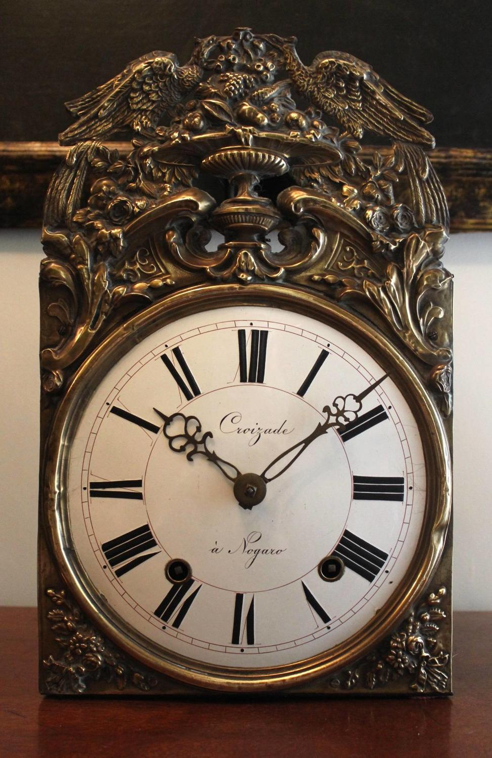 A 19th Century French Morbier Comtoise Clock