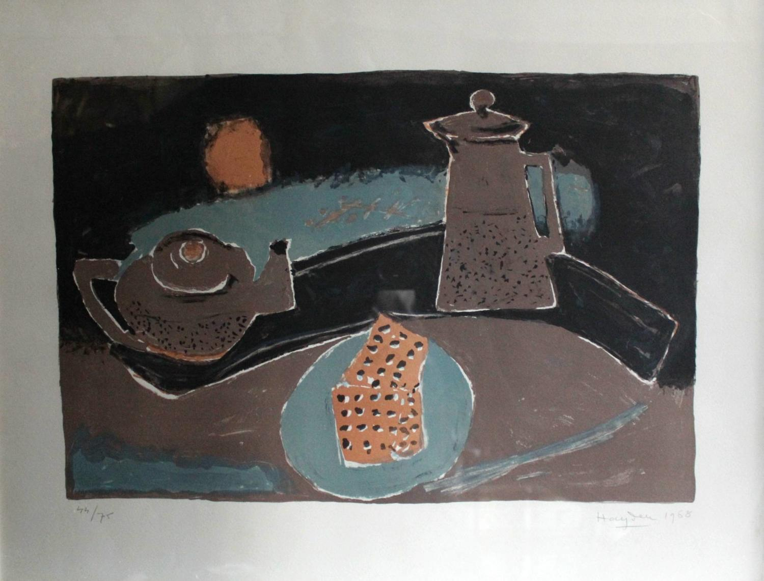 Henri Hayden Still Life Limited Edition Lithograph