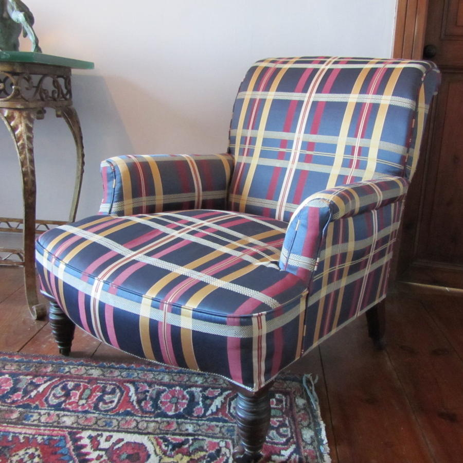 A Victorian Library Armchair by JAS Shoolbred & Sons