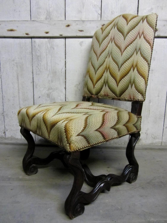 A Large 17th Century Os de Mouton Chair