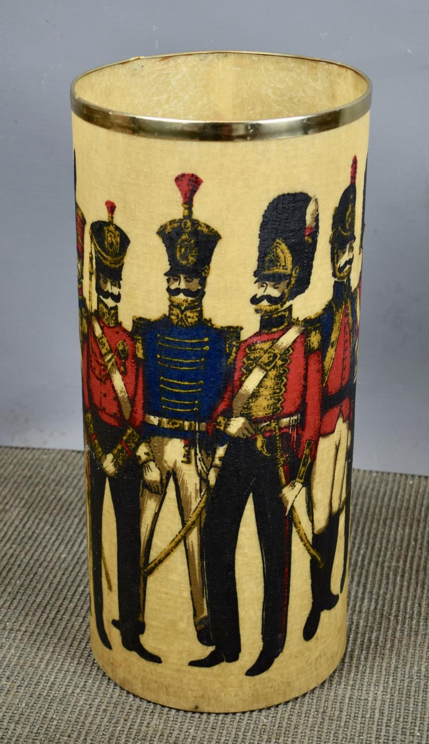 1960's Napoleonic Soldiers Umbrella Stand by Arnold Designs
