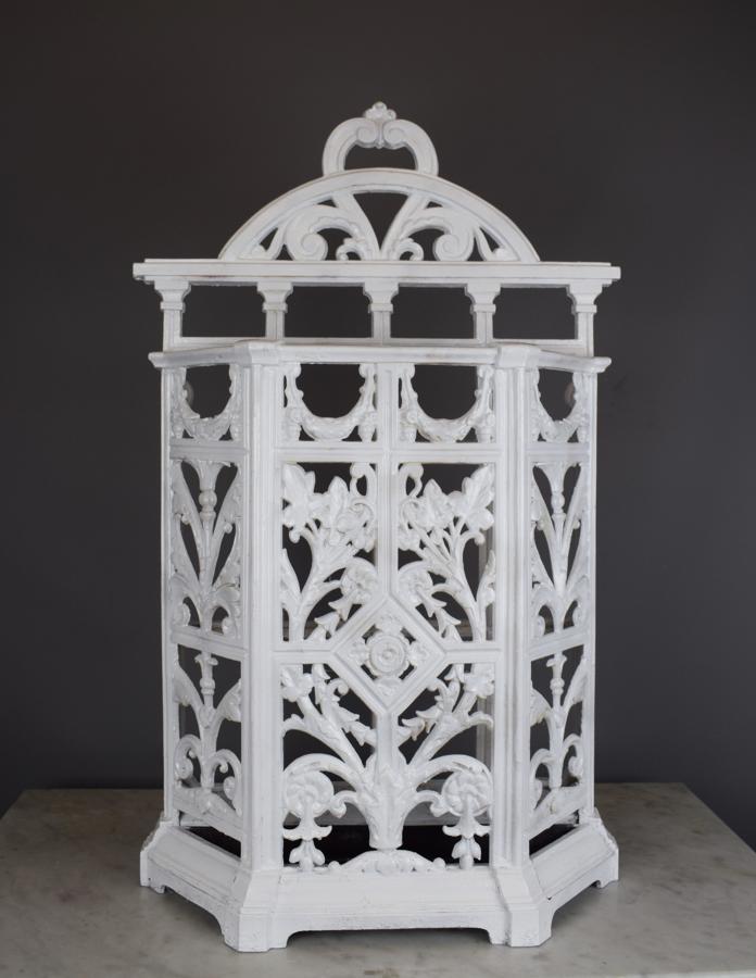 Victorian Cast Iron Stick or Umbrella Stand