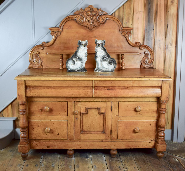 Antique Lancashire Pine Dresser