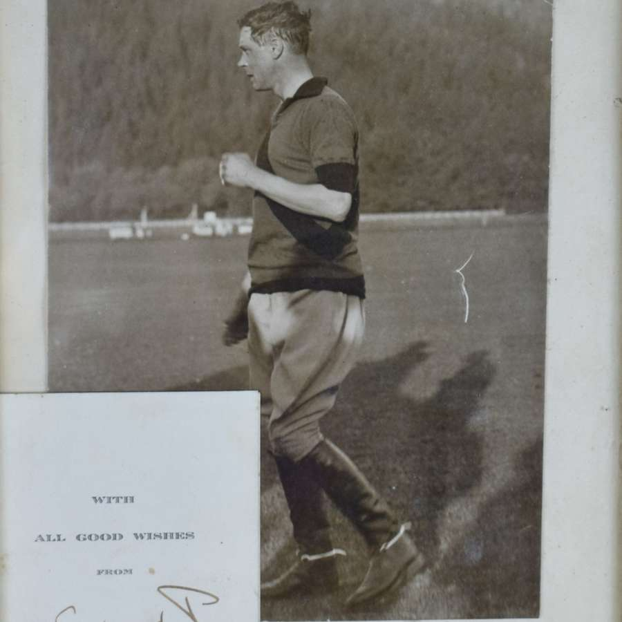 Signed Card & Photograph of Edward VIII when Prince of Wales