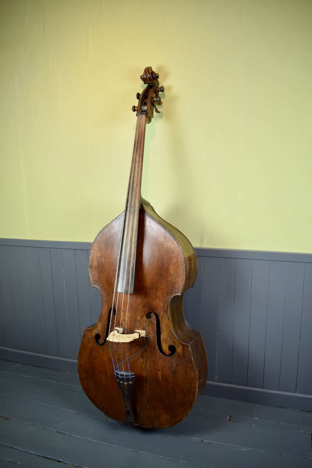 Antique 19th Century Double Bass