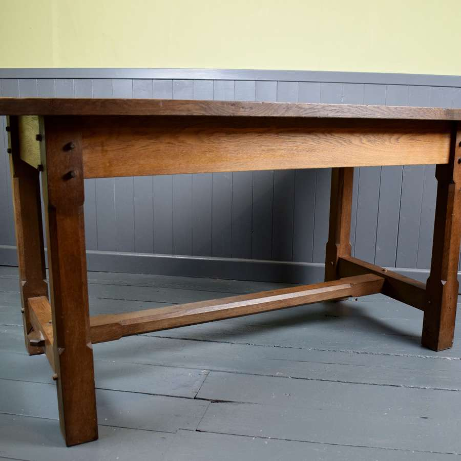 Oak Arts & Crafts Refectory table
