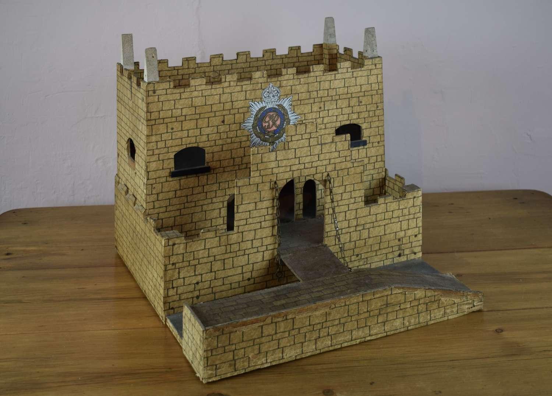 Vintage 1940's Model Fort