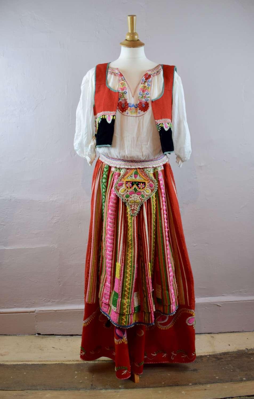 Vintage Portuguese Folk Costume
