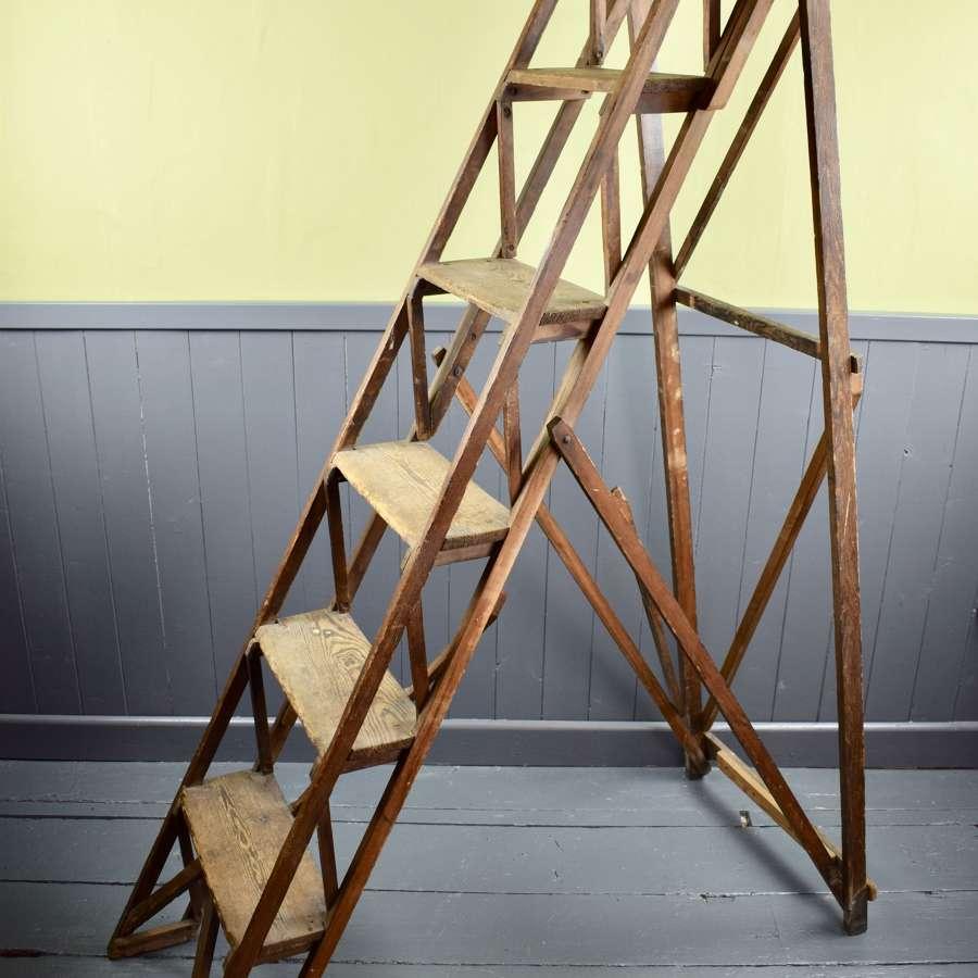 Jones's Patent Antique Step Ladder dated 1919