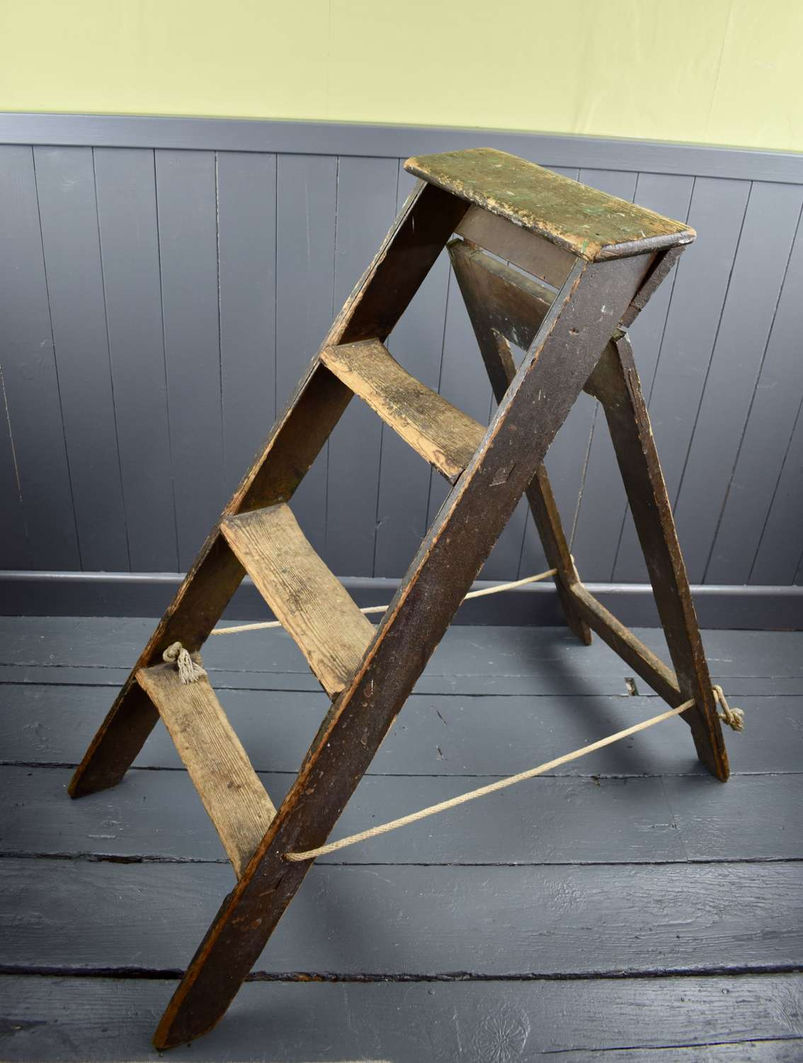 A Vintage Folding Step Ladder