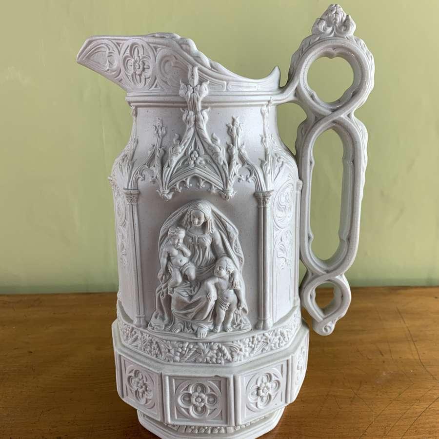 Charles Meigh Stoneware 'York Minster' Jug
