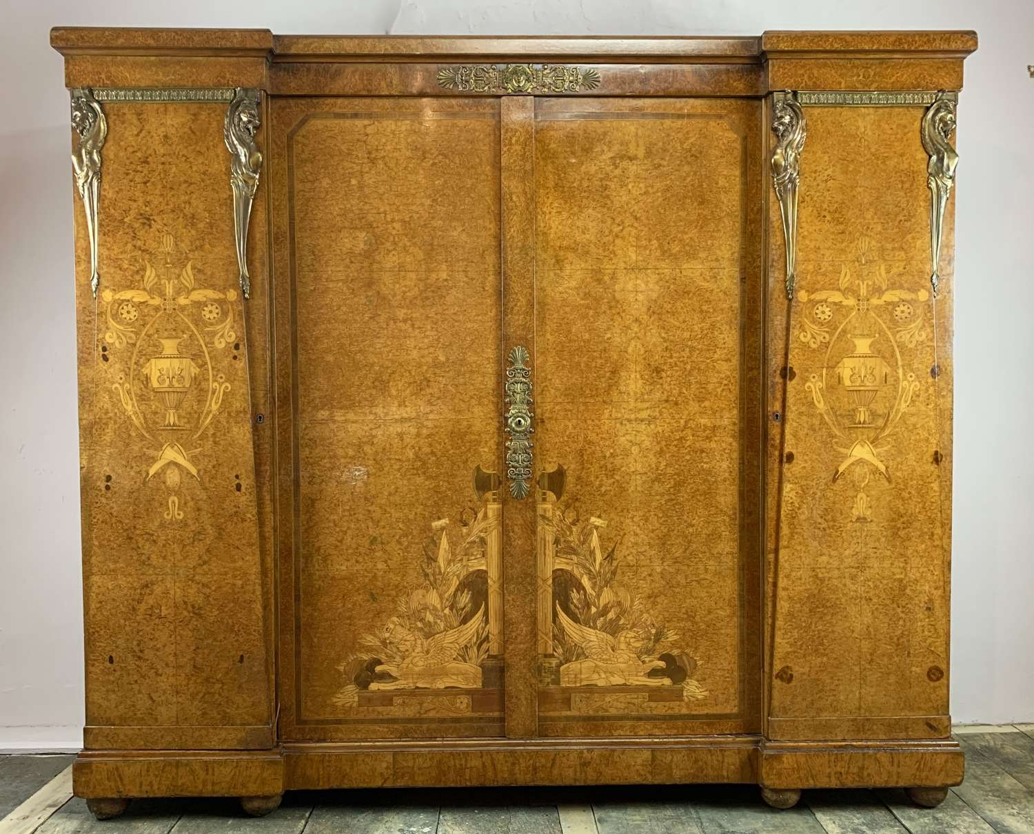 Exhibition Quality Ormolu & Marquetry Cabinet by Victor Epeaux Paris