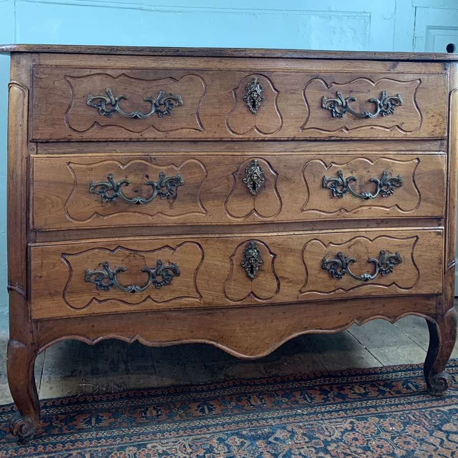 French 18th Century Chestnut Commode