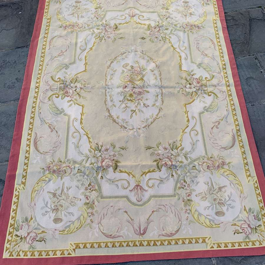 Aubusson Style Rug or Wall Hanging