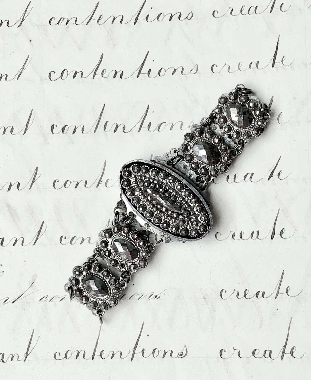 Fine Quality Georgian Cut Steel Bracelet