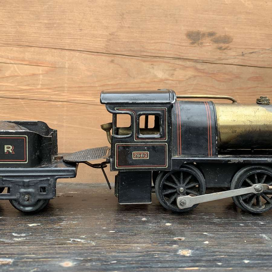 Bing O Gauge Live Steam Spirit Fired LNWR Locomotive & Tender