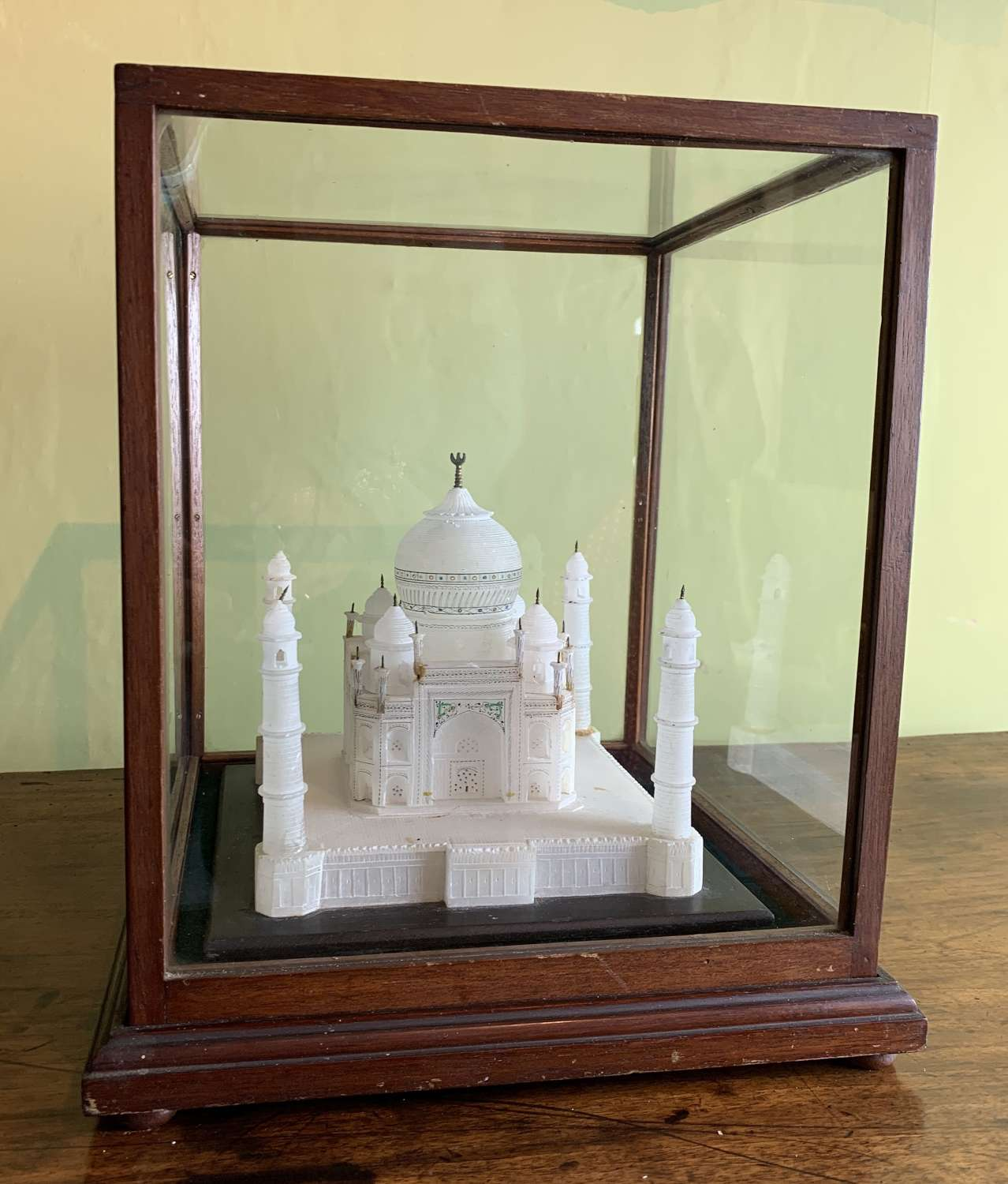 Antique Carved Alabaster Model of The Taj Mahal