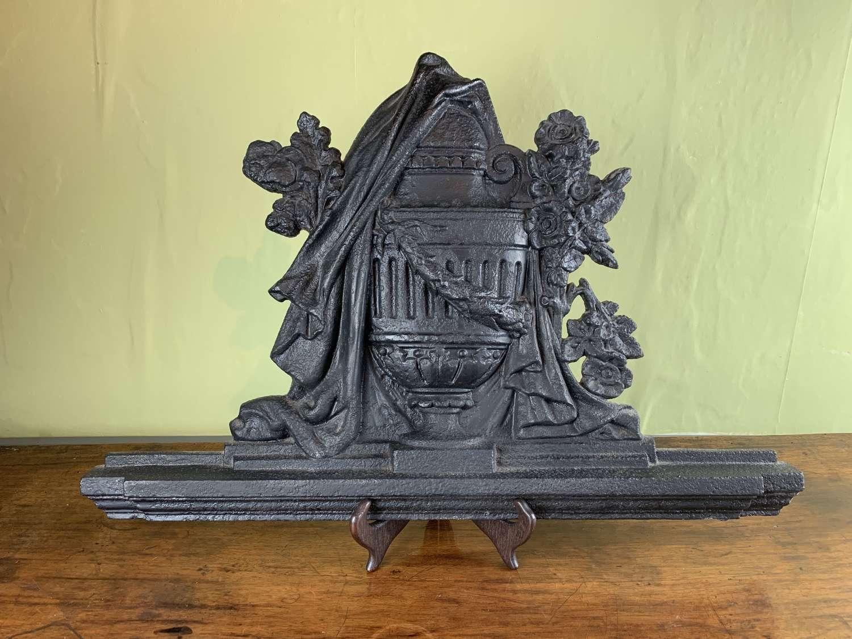 Victorian Cast Iron Panel