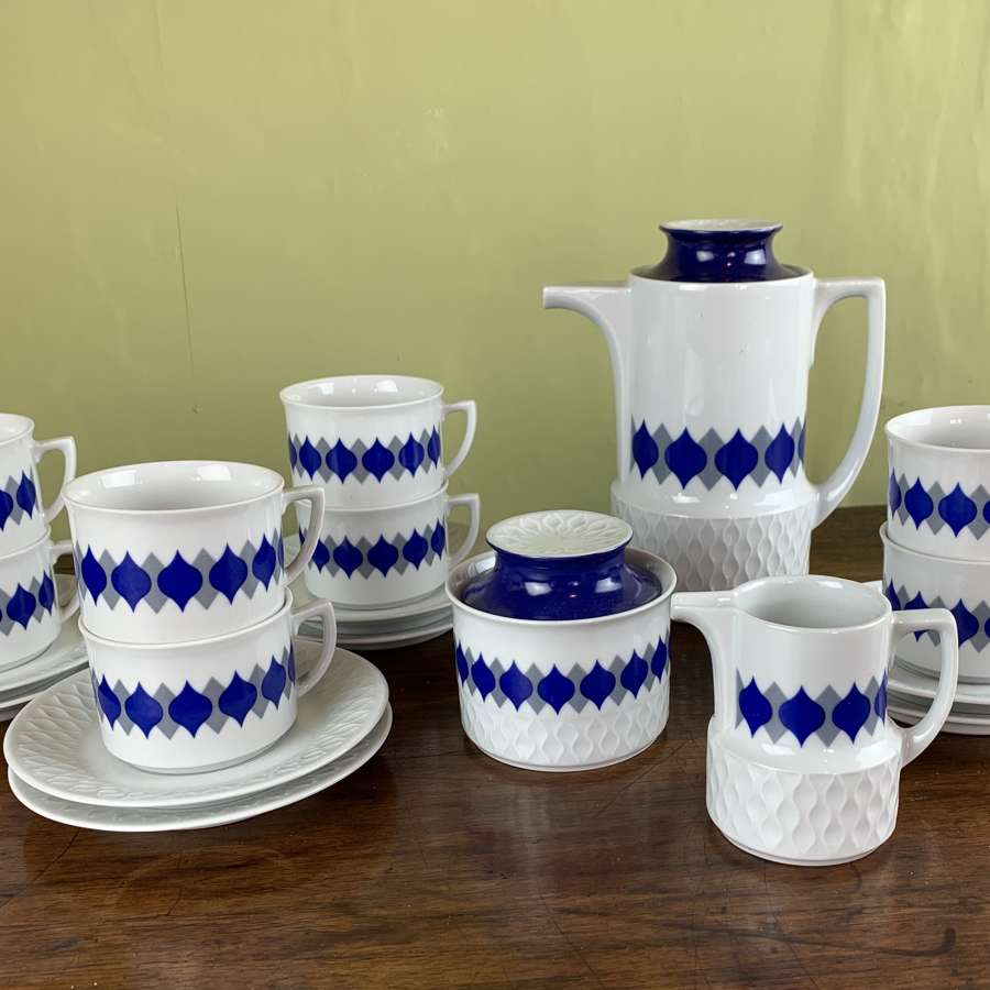 Schirnding, Bavaria, 1970's Porcelain Coffee Service