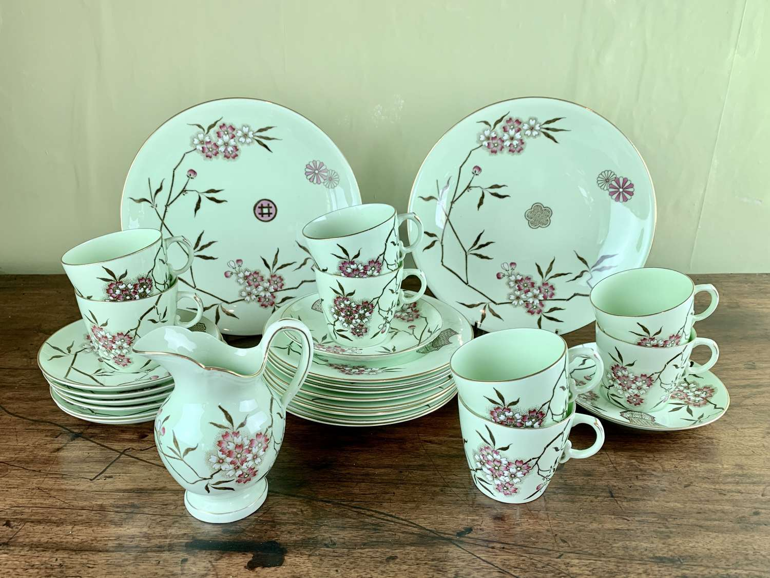 Powell, Bishop & Stonier Tea Service circa 1880