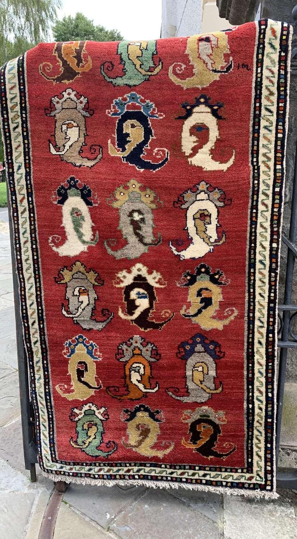 Turkish Wool Red Ground Rug