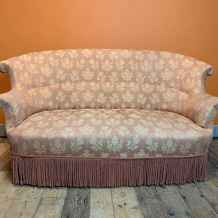 French Napoleon III Two Seat Sofa