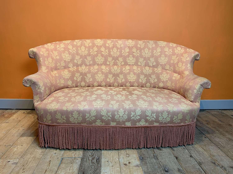 French Napoleon III Two Seat Sofa