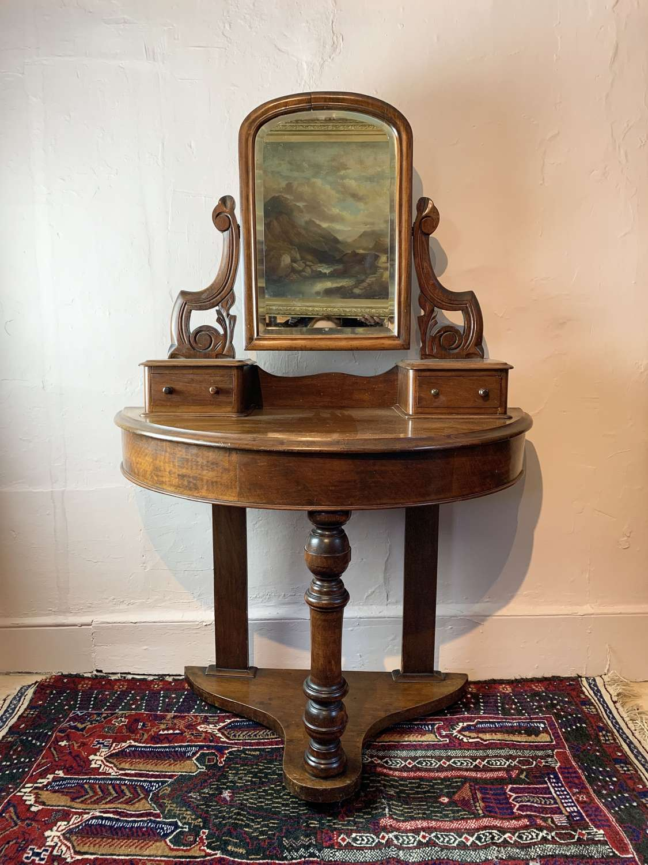Small Victorian Mahogany Duchess Dressing Table
