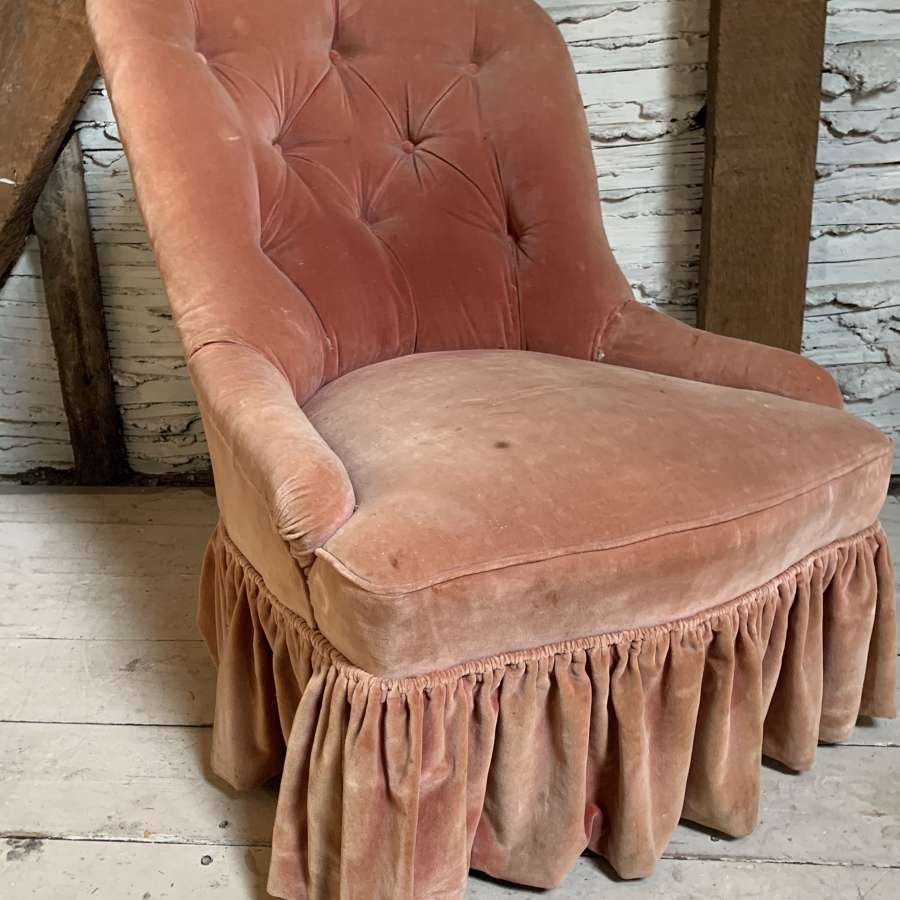 Antique Button Back Chair by Gillows of Lancaster