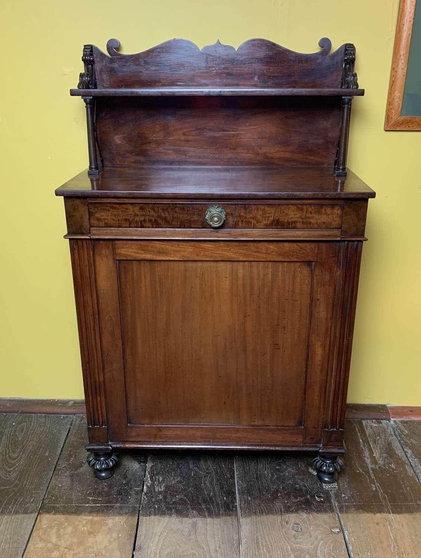 Regency Mahogany Chiffonier / Side Cabinet