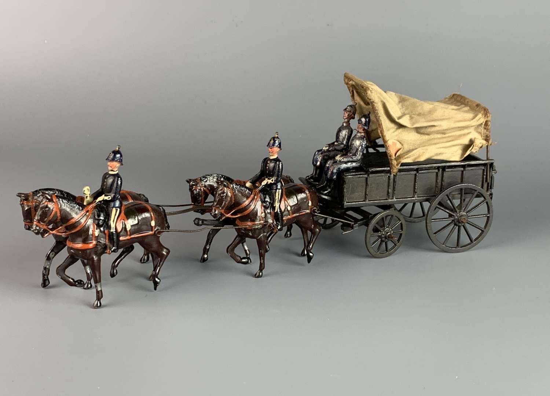 W Britains Royal Army Medical Corps Ambulance Wagon