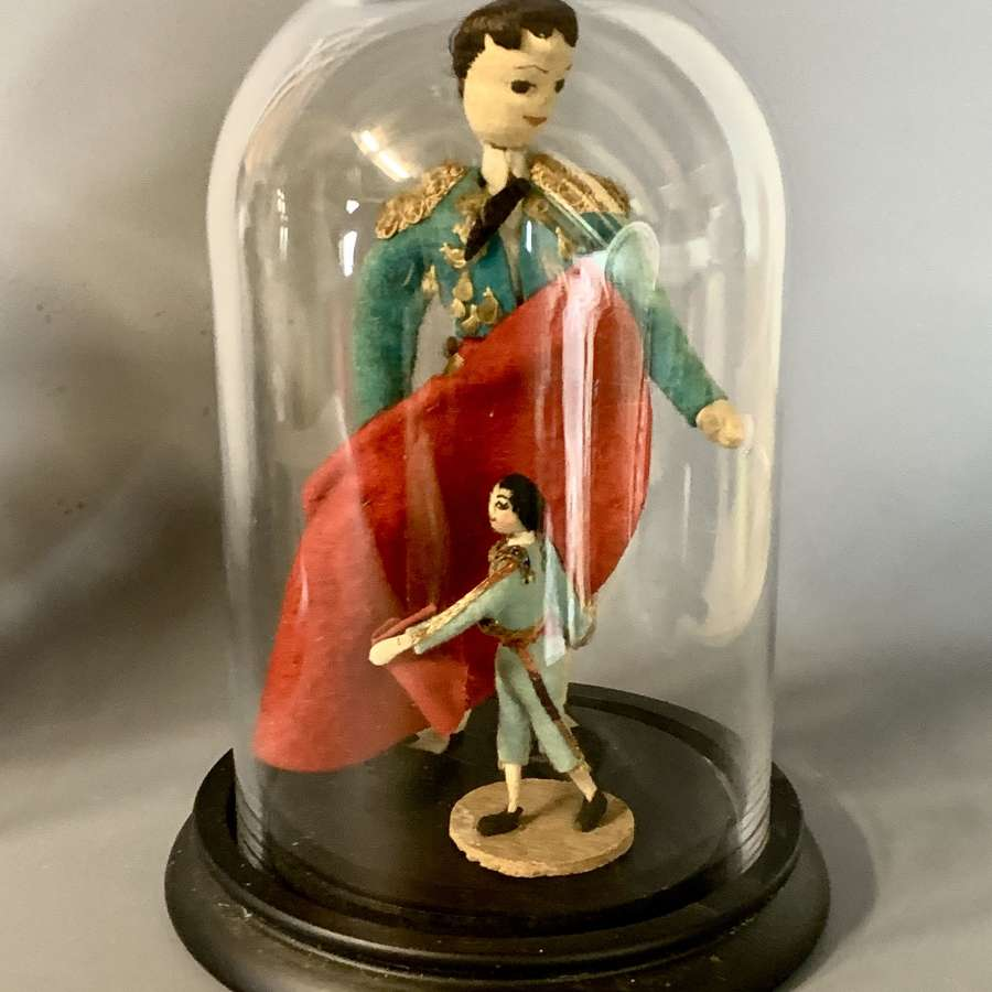 Vintage Spanish Bullfighter Costume Doll possibly by Klumpe